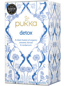 Detox Tea - 20 herbal tea sachets (Organic) - Pukka