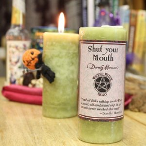 Shut your Mouth - Dorothy Morrison's Wicked Witch Mojo Candle