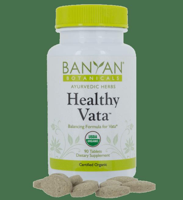 Healthy Vata tablets, 90 tabs - Banyan Botanicals