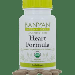 Heart Formula 500 mg 90 tabs - Banyan Botanicals