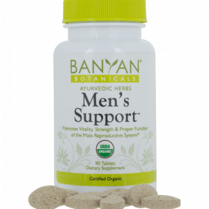 Men's Support tablets by Banyan Botanicals