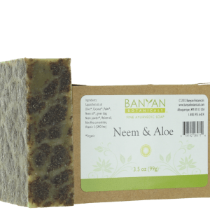 Neem Aloe Soap 3.5 oz - Banyan Botanicals