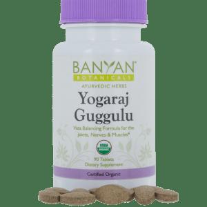 Yogaraj Guggulu, 300mg 90 tabs - Banyan Botanicals