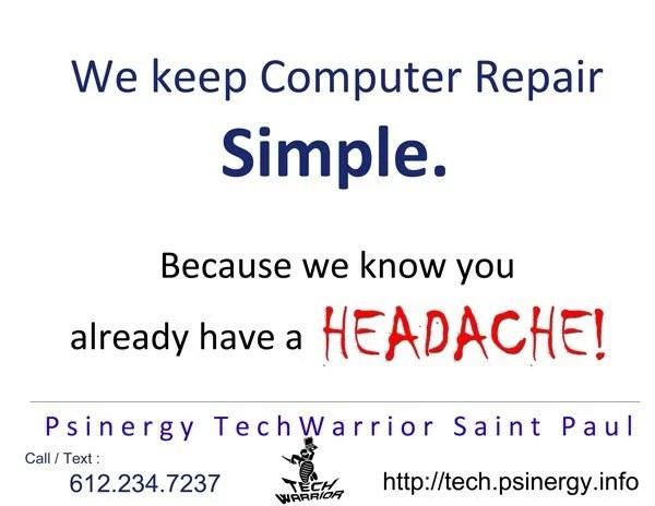 We keep Computer Repair Simple. 5