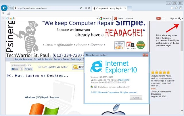 Review: IE10 for Windows 7 Pre-Release