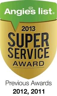 Psinergy TechWarrior St Paul Earns Esteemed 2013 Angie's List Super Service Award