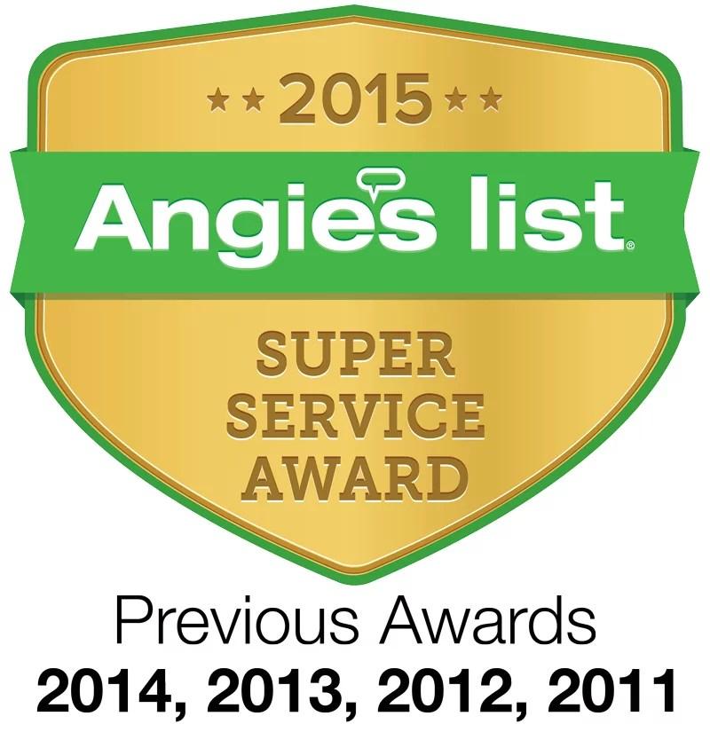 Psinergy TechWarrior St Paul Earns Esteemed 2015 Angie's List Super Service Award