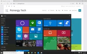 Windows 10's new Start Menu