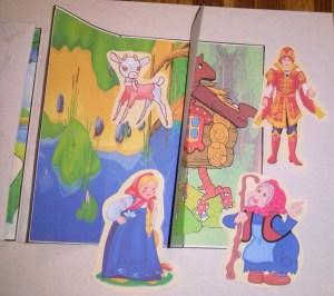 Лэпбук, русские народные сказки, театр, купить, шаблоны идеи, скачать, для младшего возраста