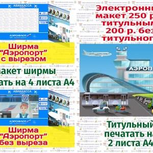 Ширма Аэропорт