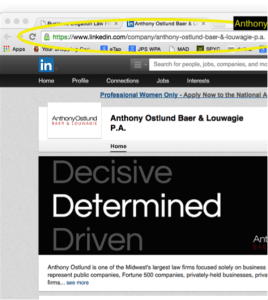 anthony ostlund linkedin screenshot