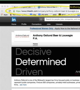 anthony ostlund linkedin screenshot
