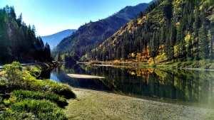 River Fall Leavenworth Washington Icicle River