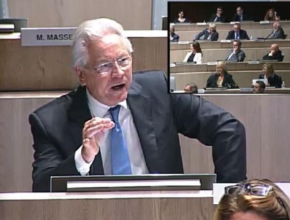 Eugène Caselli répond aux provocations du Front National