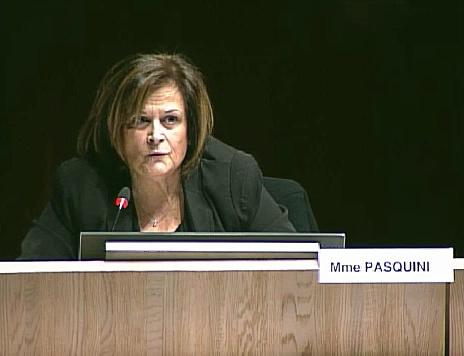 Marguerite Pasquini demande à ce que la brigade de nuit de la police municipale puisse intervenir dans tous les quartiers de Marseille.