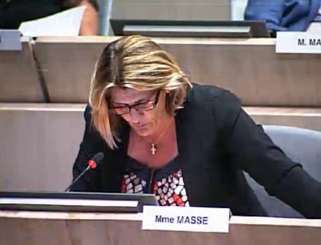 Florence Masse dénonce l'urbanisation excessive de certains quartiers