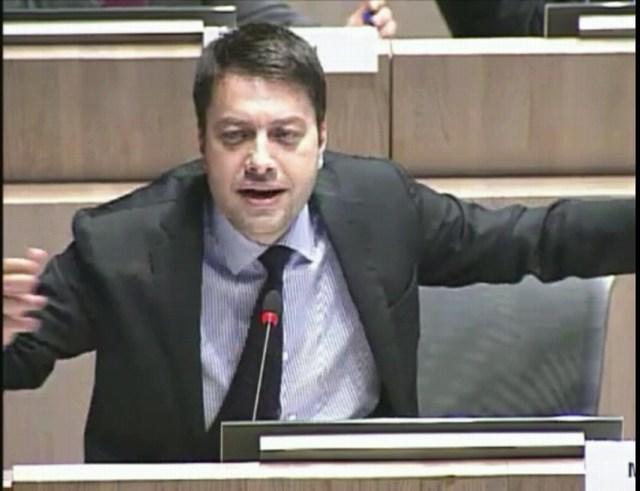 Benoît Payan intervient sur la Canebière