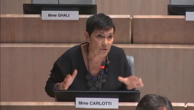 Marie-Arlette Carlotti demande la mise en place du plan logement d'abord à Marseille