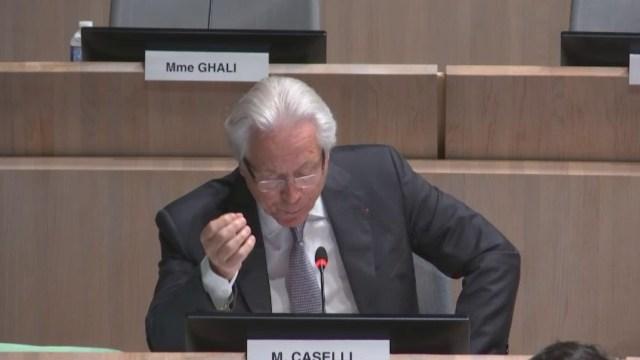 Eugène Caselli intervient sur l'avenir du Parc Chanot