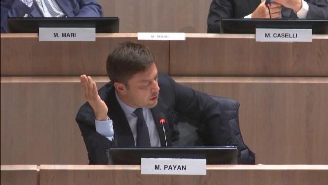 Benoît Payan soutien l'Aquarius