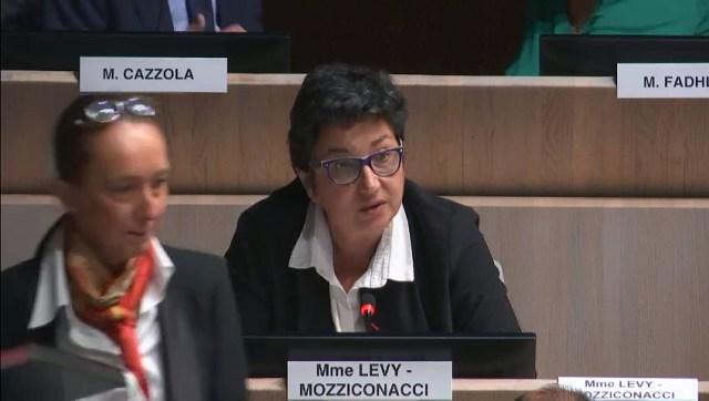 Annie Levy-Mozziconacci demande le retrait du rapport sur l'Arena du Parc Chanot