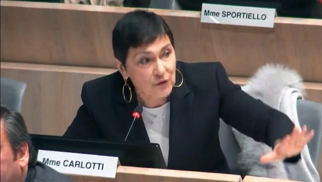 Marie Arlette CARLOTTI intervient en faveur des délogés de Marseille