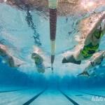nage avec palme