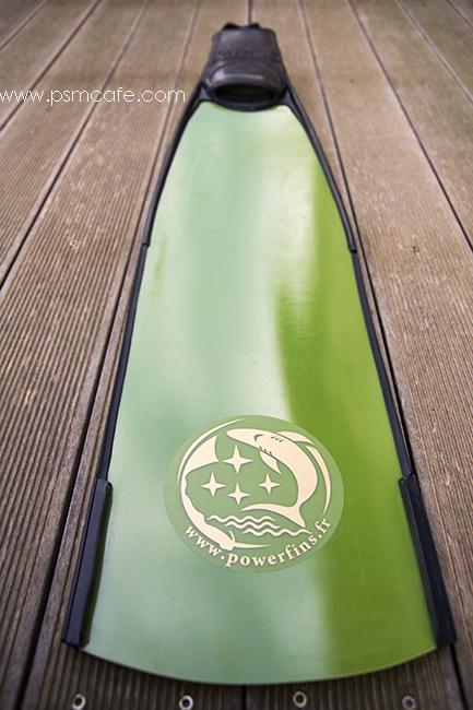 Powerfins fibre green