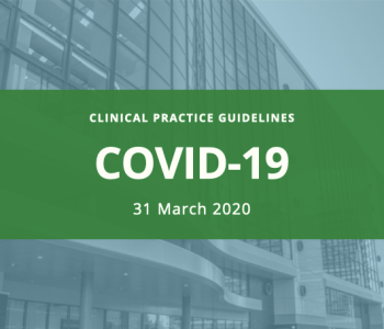 CPG for COVID-19 (ver. 2.1 as of March 31, 2020)