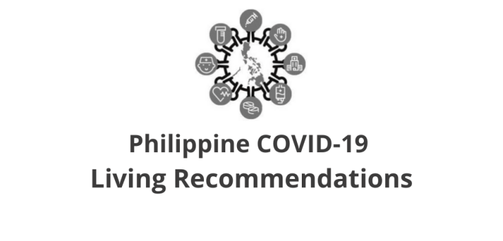Philippine COVID-19 Living Recommendations