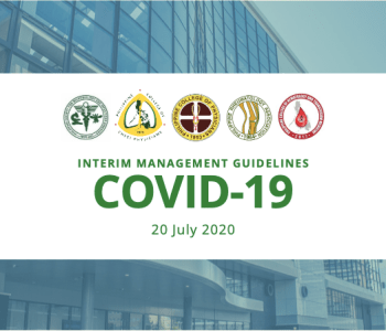 Interim Guidance on the Clinical Management of Adult Patients with Suspected or Confirmed COVID-19 Infection