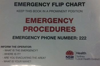 Australian 'Crash Call Number' Standardisation