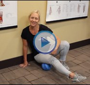 Quick Tip: Loosening the Hamstrings with the Posture Ball
