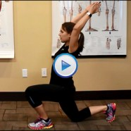 Quick Tip: Want to warm-up your serratus anterior and psoas all at once?