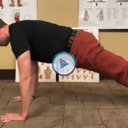 Quick Tip: How's your alignment in plank pose?
