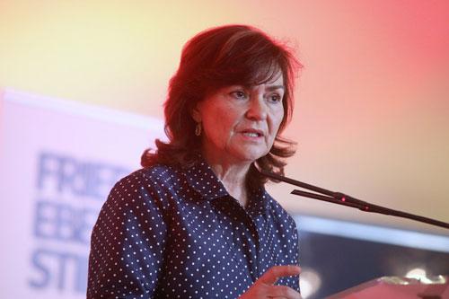 Carmen Calvo: Los socialistas somos el único parapeto posible frente a la ultraderecha, los populismos y los radicalismos