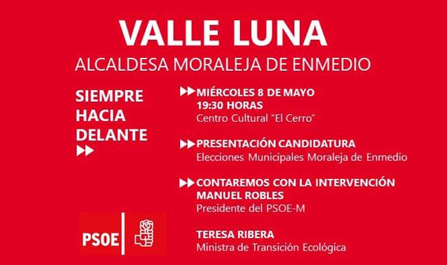 Presentación de la Candidatura PSOE Moraleja de Enmedio