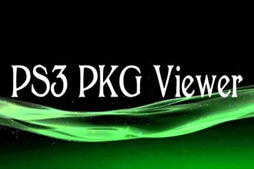 PS3 PKG Viewer - Download PS3 PKG Viewer with Full PS3 Games
