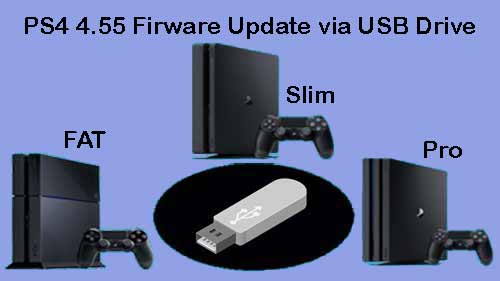 ps4 4.55 recovery firmware download