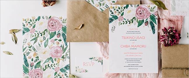 Affordable Custom Letterpress Wedding Invitations Whimsical Font Tampa Invitation Galleria