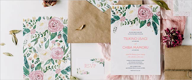 Affordable Wedding Invitations For Budget Weddings