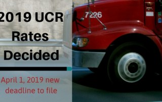 2019 UCR Rates Decided