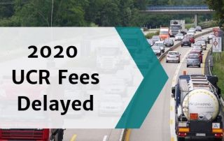 2020 UCR fees delayed