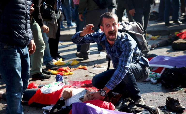 Terrible masacre en Ankara