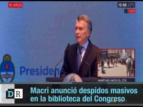 Macri  apunta contra los trabajadores estatales