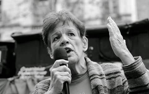 Repudiamos la amenaza a Carmen Metrovich
