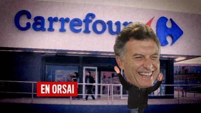 """Acuerdo Carrefour:  Reforma Laboral """"con gusto francés"""""""
