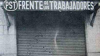 Acto por la Masacre De Pacheco.