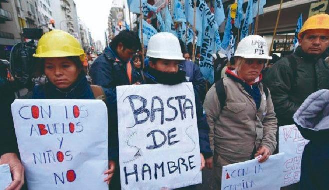 Macri nos quiere matar de hambre