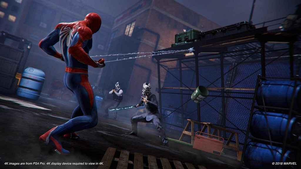 Spider Man PS4 Reveals Spider Man Velocity Suit